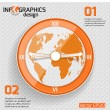Infographics web design. — Stock Vector #38992157