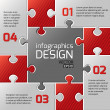 Infographics web design. — Stock Vector
