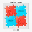 Infographics web design — Stockvector