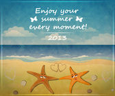 Enjoy your summer every moment. — Stock Vector