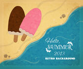 Hello, summer 2013. — Stock Vector