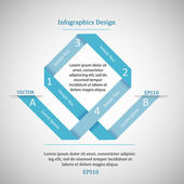 Infographics website design. — Stockvektor