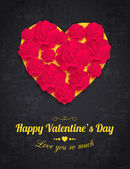 Happy Valentine's day holiday — Stock Vector