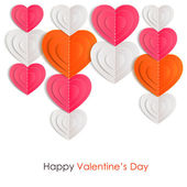 Valentines day background — Vettoriale Stock