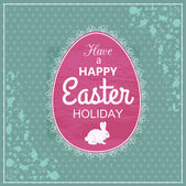 Easter  typographical background — Vector de stock