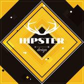 Hipster tło — Wektor stockowy
