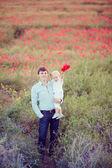 Ung pappa och lille son — Stockfoto