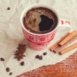 Winter Hot Drink — Stock Photo