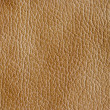 Beige leather texture as background — Stock Photo