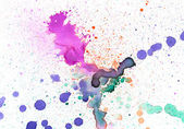 Watercolor splash background — Stock Photo