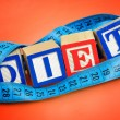 Diet word — Stock Photo #39527091