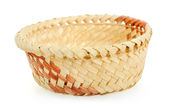 Isolated basket on white — Stock Photo