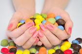 Many candies  — Stock Photo