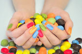 Many candies  — Stock Photo