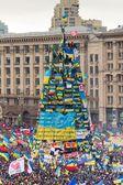 Euromaidan。基辅。乌克兰。. — 图库照片