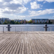 Boardwalk havel — Stock Photo