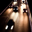 Freeway at night — Stock Photo