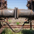 Stock Photo: Bumper of freight train