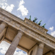 Brandenburger tor in berlin — Stock fotografie