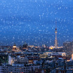 Berlin in winter — Stock Photo #36946207