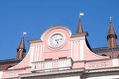 Town hall rostock — Stock Photo