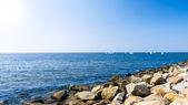 Stenen wal — Stockfoto