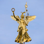 Victory column in Berlin — Stock Photo