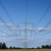 Electrical tower — Photo