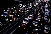 Highway by night — Stock Photo