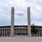 Olympic stadium in Berlin — Stock Photo
