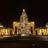 Brandenburg Gate in winter — Stock Photo