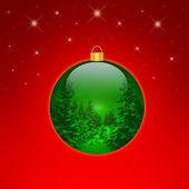 Christmas bulb — Stock Photo