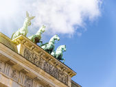 Brandenburg Gate close up — Stock Photo