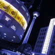 World clock at alexanderplatz berlin — Stock Photo