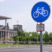 Bike city berlin — 图库照片