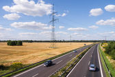 Highway in landscape — Stock Photo