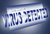 Virus scan — Stock Photo