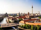Berlin panoramic view — Stock Photo