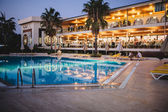 Turkey Hotel 5 star pool — Stock Photo