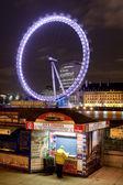 London Eye by night. — Stock Photo