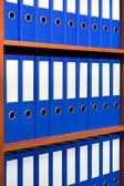 The image of file folders. — Stock Photo