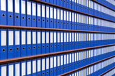 The image of file folders. — Stock Photo