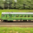 Suburbelectric trains — Stock Photo #37072335