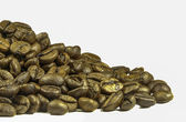 Brown coffee beans — Stockfoto