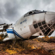 Abandoned  plane — Stock Photo