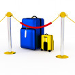 Suitcase 3d. — Stock Photo