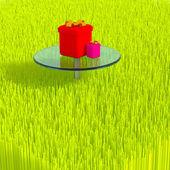 3d grass. — Foto de Stock