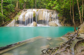 Erawan waterfall level 2. — Stockfoto