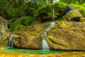 Erawan waterfall. — Stockfoto