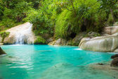 Erawan waterfall. — Foto Stock